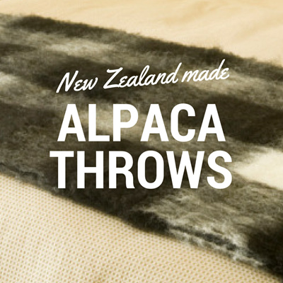Alpaca Throw Blankets