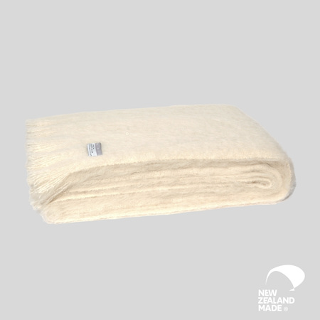 Alpaca Throw - Cream