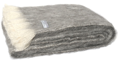 Alpaca Throw - Granite