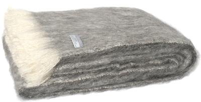 Alpaca Throw - Granite
