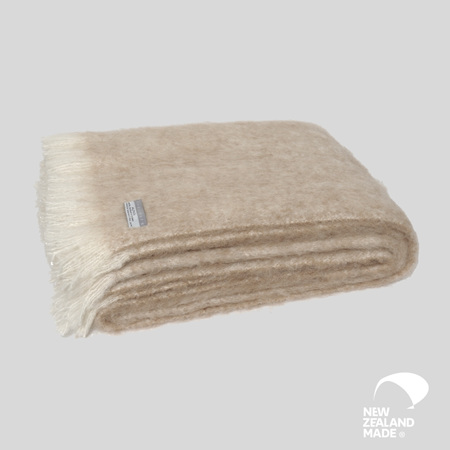 Alpaca Throw - Sand