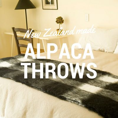 Alpaca Throws
