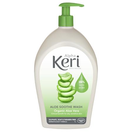 Alpha Keri Aloe Soothe Gentle Wash 1 Litre