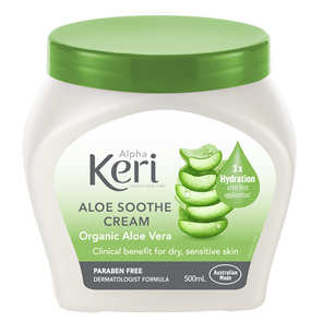Alpha Keri Aloe Soothe Intensive Cream 500ml