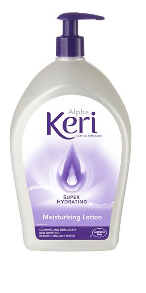 Alpha Keri Super Hydrating Moisturising Lotion Lotion 1L