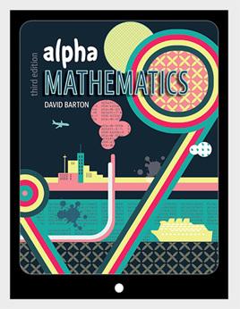 Alpha Mathematics, 3e VitalSource eBook