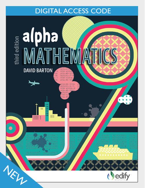 Alpha Mathematics eBook - author David Barton - available from Edify