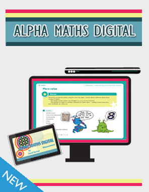 Alpha Maths Digital - David Barton's Interactive Resource - available from Edify