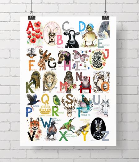 Alphabet, Love Lis - on A3