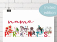 * Alphabet name prints * due back June/July