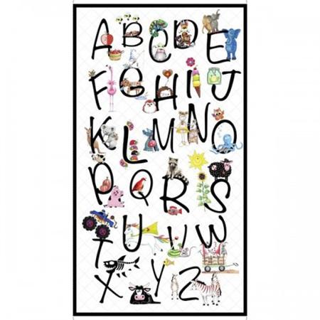 Alphabet Soup Panel 28207-Z