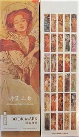 Alphonse Mucha Bookmarks