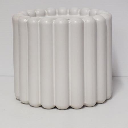 Alto Vase White C3973