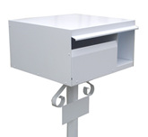 Aluminium Letterbox with Mounting Post