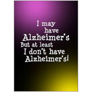 Alzheimers  Fridge Magnet