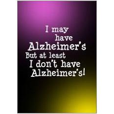 Alzheimers  Fridge Magnet
