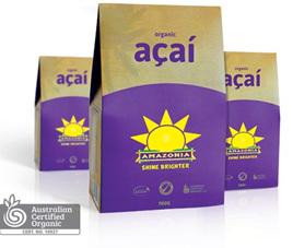 Amazonia Organic Freeze Dried Acai Powder 50gm