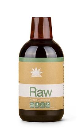 Amazonia Raw Green Compress (Liquid Chlorophyll) 500ml