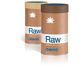 Amazonia Raw Prebiotic Grass-fed WPI - 2 flavours