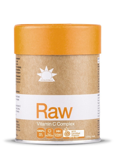 Amazonia Raw Prebiotic Vitamin C 120g