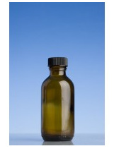 Amber Glass Bottle - 100ml