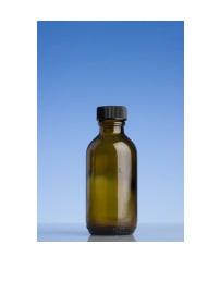 Amber Glass Bottle - 100ml
