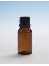Amber Glass Bottle - 15ml  with Slow Dripulator Cap