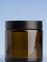 Amber Glass Jar - 120 gm