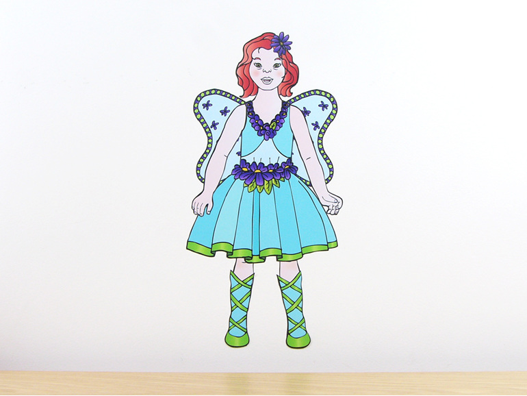 Amber's Fairy dress up costume