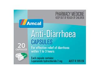 AMCAL ANTI DIARRHOEA CAP 20