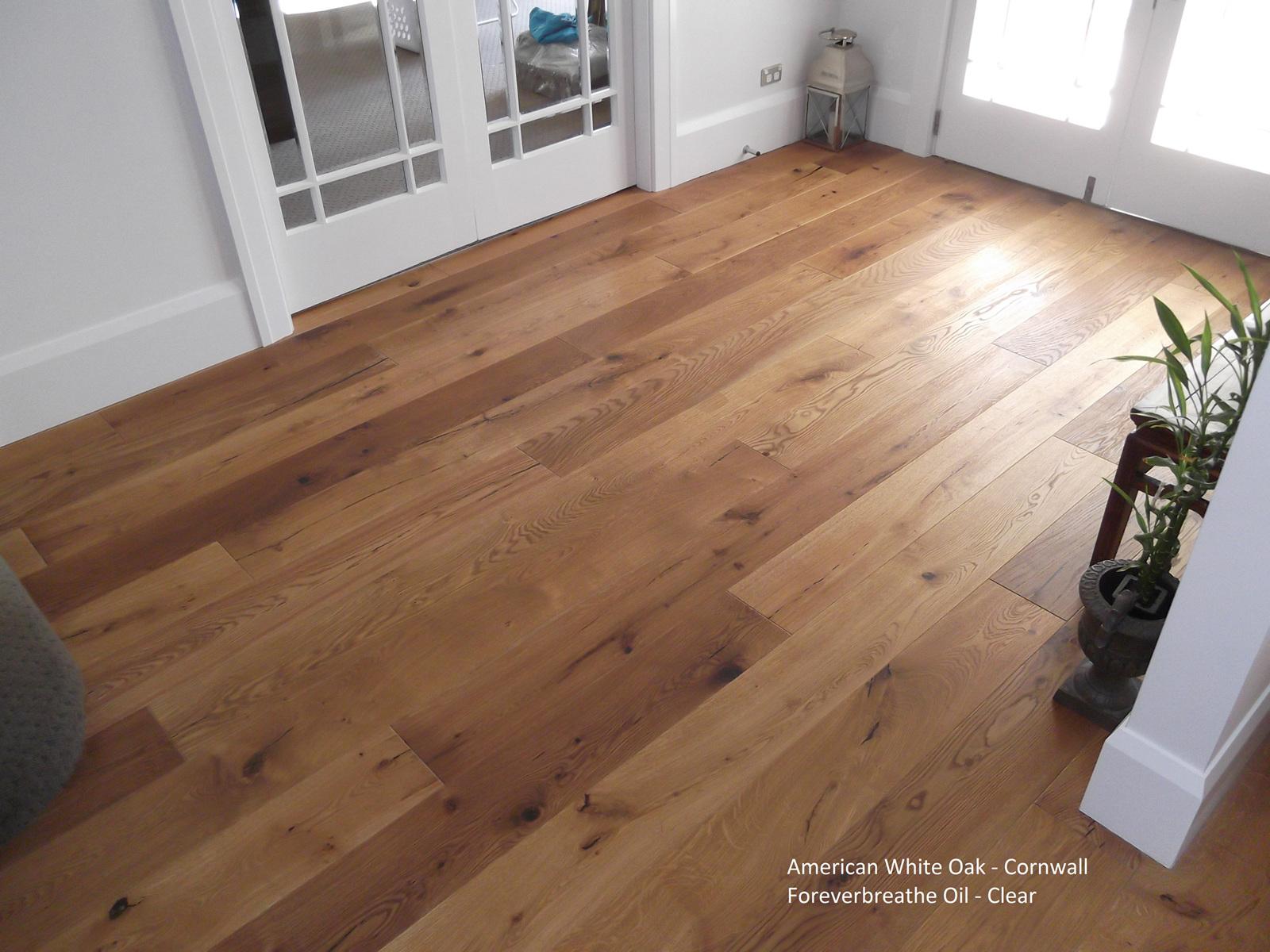Foreverbreathe clear coat resin oil finishing kit for Flooring america