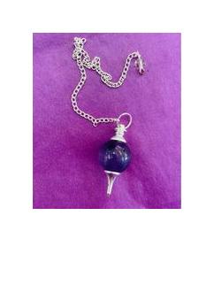 Amethyst Ball Pendulum