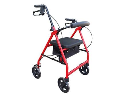 AML Four Wheeled Rollator - 6 Inch Wheels