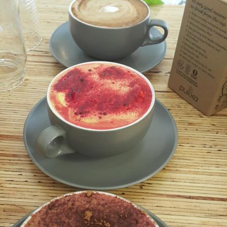 Amore Food Cafe Organic Hot Beverage