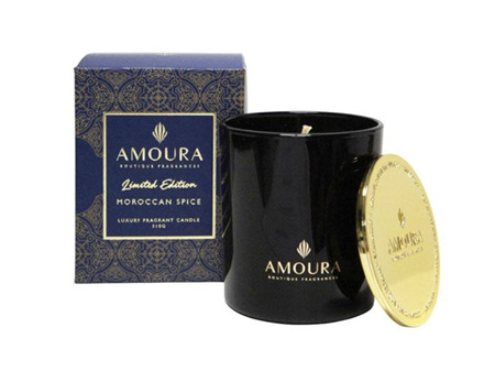 AMOURA Candle Moroccan Spice 310g