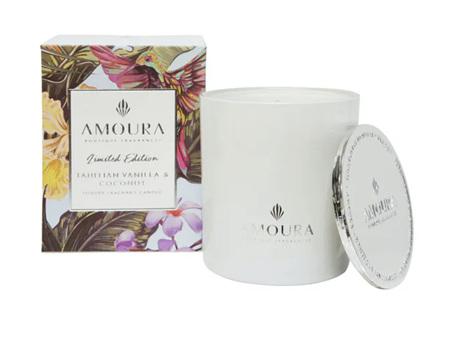 AMOURA Candle Tahitian Vanilla & Coconut 100g