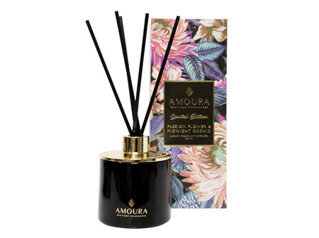 AMOURA Diffuser Passion Flower & Midnight Orchid 200ml