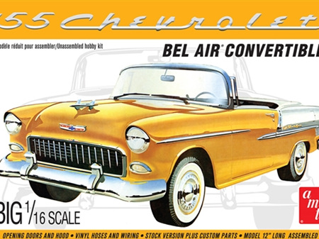 AMT 1/16 1955 Chevy Bel Air Convertible