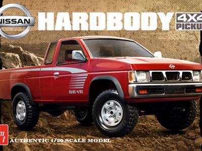 AMT 1/20 1993 Nissan Hardbody 4x4 Pickup