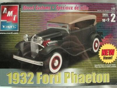 AMT 1/25 1932 Ford Phaeton Street Custom