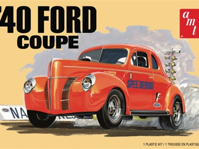 AMT 1/25 1940 Ford Coupe