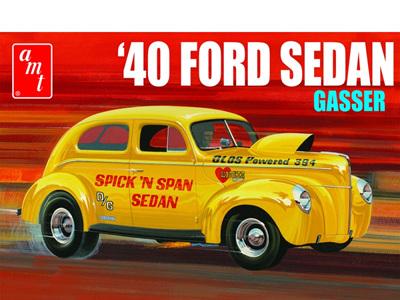 AMT 1/25 1940 Ford Sedan Gasser