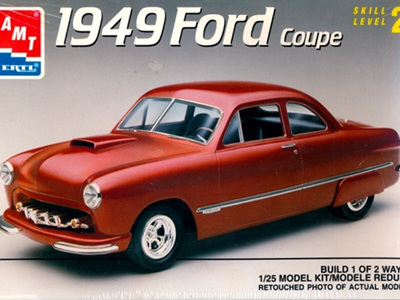 AMT 1/25 1949 Ford Coupe
