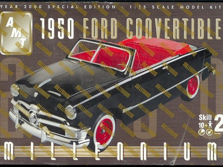 AMT 1/25 1950 Ford Convertible Millenium Special Edition