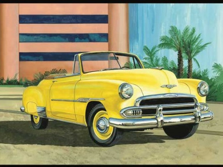 AMT 1/25 1951 Chevy Convertible