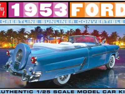 AMT 1/25 1953 Ford Convertible