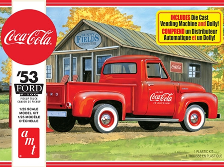 AMT 1/25 1953 Ford Pickup (Coca-Cola)