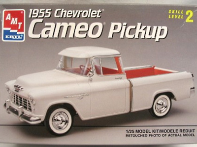 AMT 1/25 1955 Chevy Cameo Pickup