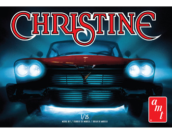 AMT 1/25 1958 Plymouth Christine Car