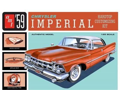 AMT 1/25 1959 Chrysler Imperial Hardtop